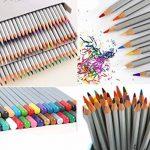Tomkity Crayons de couleur coloriage 72 Couleurs Crayons de couleur Marco Raffiné Crayons d'Artiste Dessin coloré crayons de coloriage avec Trousse de la marque Tomkity image 2 produit