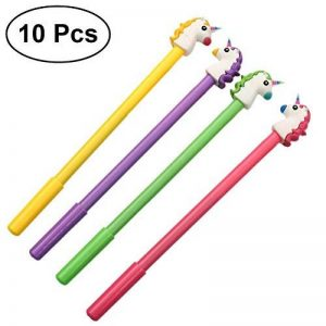 TOYMYTOY Lot de 10 joli stylo gel stylos licorne Pointe Fine pour fournitures scolaires,10PCS de la marque TOYMYTOY image 0 produit