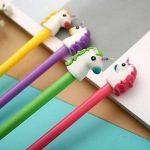 TOYMYTOY Lot de 10 joli stylo gel stylos licorne Pointe Fine pour fournitures scolaires,10PCS de la marque TOYMYTOY image 4 produit