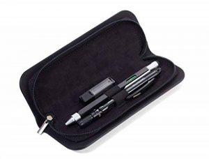 TROIKA CONSTRUCTION SET ZIRKEL – PEC70/BS – Set d'un stylo multi-tâches et d'un compas – d'une règler à centimètre/pouce – échelle 1 : 20/1 : 50 m – niveau à bulle – TROIKA-original de la marque Troika image 0 produit