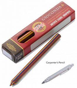 Troïka Kit de recharge pen57–99z124–Mines pour Zimmermann Magic (pen57/SI)–mehrf arbminen de Koh-I-Noor–6Pack–Multicolore–L'original de Troïka de la marque Troika image 0 produit