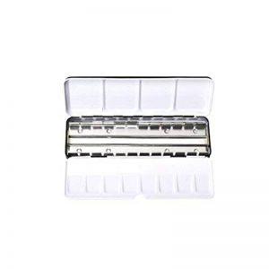 ULTNICE Palette Paint Case Boite en métal vide aquarelle boîte avec 24 girouette Set aquarelle de la marque ULTNICE image 0 produit