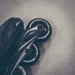 Ultrasport Roues de roller, bonne adhérence, pour usage en extérieur et en intérieur, lot de 4 roues, noir, diamètre de 80 mm de la marque Ultrasport image 3 produit