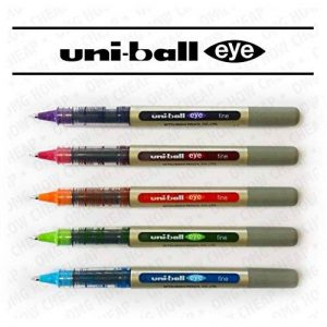 Uni-Ball EYE UB-157 Fine Liquid Ink Rollerball Pen - Tropical Set - Pack of 5 by Uni de la marque Uni image 0 produit