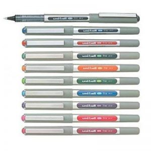 Uni-Ball EYE UB-157 Rollerball Pen Medium 0.7mm Ball [Pack of 10] One of each colour de la marque Uniball image 0 produit