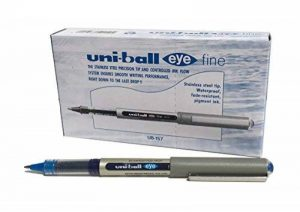 Uni-Ball UB-157 Eye Fine Lot de 12 stylos roller Bleu de la marque Uniball image 0 produit