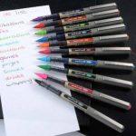 Uni-Ball UB-157 Eye Fine Lot de 12 stylos roller Vert clair de la marque Uniball image 2 produit