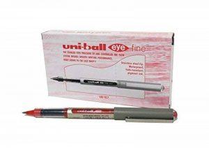 Uni-Ball UB-157 Eye Fine Lot de 12 stylos rollers Rouge de la marque Uniball image 0 produit