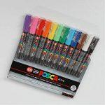 Uni-posca PC-1M Paint Marker Pen - Extra Fine Point - Set of 12 (japan import) de la marque Mitsubishi Pencil Co., Ltd image 1 produit