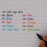 Uniball Eye Fine UB-157 Pack de 5 Stylos à bille pointe 0,7mm Noir/Bleu/Rouge de la marque Uniball image 3 produit