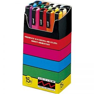 Uniball Uni Posca 15 marqueurs peinture de la marque Uniball image 0 produit