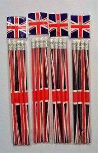 Union Jack 16crayons avec gomme Souvenir à collectionner de la marque Henbrandt image 0 produit