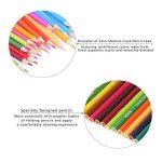 Unique de 120crayons de couleur Art Crayons pour coloration Dessin croquis Anime et Manga avec 4livres de coloriage pour adulte de la marque Laconile image 1 produit