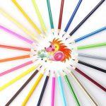 Unique de 120crayons de couleur Art Crayons pour coloration Dessin croquis Anime et Manga avec 4livres de coloriage pour adulte de la marque Laconile image 3 produit