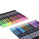 upksy Multicolore Set stylo gel pour adultes Coloration livres dessin livres de coloriage, 48stylos gel stylo gel pailletée de la marque Upksy image 2 produit