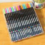 upksy Multicolore Set stylo gel pour adultes Coloration livres dessin livres de coloriage, 48stylos gel stylo gel pailletée de la marque Upksy image 4 produit