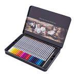 US Sense Coloriage Crayons Art Peinture Fournitures Crayons de Dessin pour Artiste Couleurs Assorties, Paquet de 48 de la marque US Sense image 1 produit