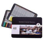 US Sense Coloriage Crayons Art Peinture Fournitures Crayons de Dessin pour Artiste Couleurs Assorties, Paquet de 48 de la marque US Sense image 2 produit