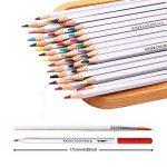 US Sense Coloriage Crayons Art Peinture Fournitures Crayons de Dessin pour Artiste Couleurs Assorties, Paquet de 48 de la marque US Sense image 4 produit