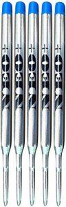 vendeur britannique. des Ensembles de stylo Recharges pour stylos à bille Sheaffer K s'adapter. Medium Point Bille Soft Roll recharge pour 5 BLUE INK REFILLS de la marque NEO image 0 produit