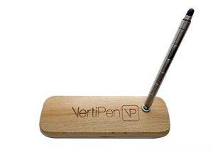 VertiPen Stylo-stylet portable Acier inoxydable et bracelet en bois sombre - 7 wrist de la marque VertiPen image 0 produit