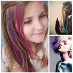Vococal® 24 Pcs Femmes Filles Cheveux Jetables Couleur Colorant-Coloriage de Stylo Craie-Crayons Pastels Tendres de la marque Vococal image 4 produit