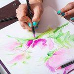 Vrais Stylos Pinceaux Arteza - 12 couleurs - Effet Aquarelle - (Lot de 12) de la marque ARTEZA® image 3 produit