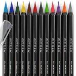 Vrais Stylos Pinceaux Arteza - 12 couleurs - Effet Aquarelle - (Lot de 12) de la marque ARTEZA® image 4 produit