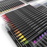 Vrais Stylos Pinceaux Arteza - 96 couleurs - Effet Aquarelle - (Lot de 96) de la marque ARTEZA® image 3 produit