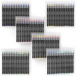 Vrais Stylos Pinceaux Arteza - 96 couleurs - Effet Aquarelle - (Lot de 96) de la marque ARTEZA® image 6 produit