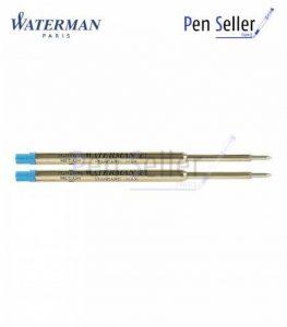Waterman: 2 Recharges Bille Standard Maxima Bleue - Taille Moyenne de la marque Waterman image 0 produit