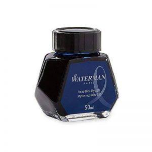 Waterman Encre pour Stylo Plume Bleu/Noir - Flacon de 50 ml de la marque Waterman image 0 produit