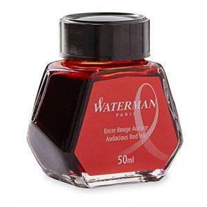 Waterman Encre pour Stylo Plume Rouge Audace - Flacon de 50 ml de la marque Waterman image 0 produit