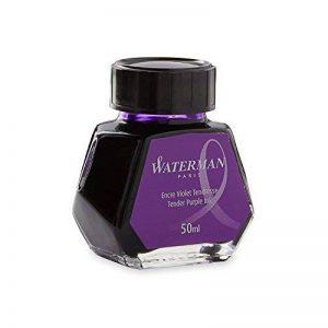 Waterman Encre pour Stylo Plume Violet Tendresse - Flacon de 50 ml de la marque Waterman image 0 produit