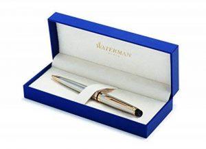 Waterman Expert Acier Attributs Dorés Stylo Bille Pointe Moyenne - dans son Écrin de la marque Waterman image 0 produit