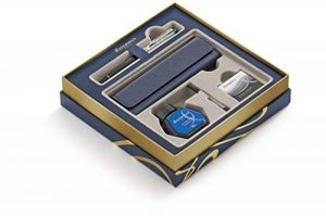 WATERMAN Expert, coffret cadeau comprenant un stylo plume Deluxe Black CT (1978716) de la marque Waterman image 0 produit