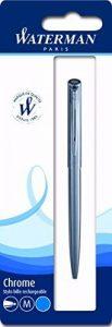 Waterman Graduate Stylo-bille rétractable Pointe Moyenne Chrome de la marque Waterman image 0 produit