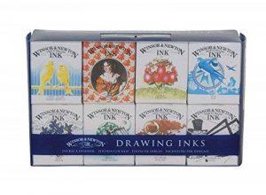 Winsor & Newton - Assortiment d'encre à dessiner Collection Henry de la marque Winsor & Newton image 0 produit