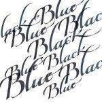 Winsor & Newton Bouteille d'encre pour calligraphie 30ml - Bleu Noir de la marque Winsor & Newton image 1 produit