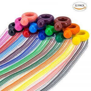 WOCLHJ Crayons pour bébé et enfants Lavable écologique et non toxique Crayons de jouets pour enfants de la marque WOCLHJ image 0 produit
