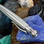 Xezo Ambassador Taille diamant et rhodium plaqué Twist Action Stylo à bille avec Neo Cristaux autrichiens, produit et équilibrée, cristal autrichien Limited Edition (B) de la marque Xezo image 3 produit