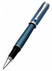 Xezo Architect fine Executive Stylo à bille Produit Taille diamant Corps Plaqué platine Édition limitée numérotée, Bleu d'azur (Architecte Bleu azur R) de la marque Xezo image 0 produit