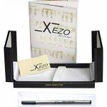 Xezo Architect fine Executive Stylo à bille Produit Taille diamant Corps Plaqué platine Édition limitée numérotée, Bleu d'azur (Architecte Bleu azur R) de la marque Xezo image 2 produit