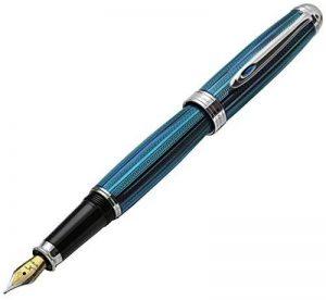 Xezo Freelancer Produit Laiton Stylo plume vénitien, Bleu Couleur. Pointe moyenne (Freelancer Bleu vénitien F) de la marque Xezo image 0 produit