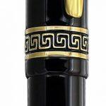 Xezo Medium Stylo à bille, Noir avec mécanisme à, édition limitée (Phantom Noir classique B) de la marque Xezo image 4 produit