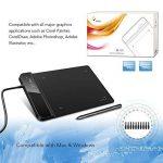 XP-Pen G430 G540 OSU Tablette Graphique Ultra Fine à Stylet Passif sans Batterie (G430, NOIR) de la marque XP-Pen image 3 produit