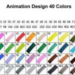 Yalulu 40-couleurs Marqueur Peints à la Main Huile-alcool Double 1mm/6mm 40 Couleurs Animation design dans un sac de la marque Yalulu image 2 produit