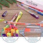YOHOOLYO 60PCS Stylos Gel Pailletté Multicolores Crayons Gel Stylos Billes à Encre Gel avec Une Boîte Feutre Fin pour Dessin de la marque YOHOOLYO image 1 produit