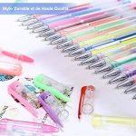 YOHOOLYO 60PCS Stylos Gel Pailletté Multicolores Crayons Gel Stylos Billes à Encre Gel avec Une Boîte Feutre Fin pour Dessin de la marque YOHOOLYO image 2 produit