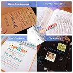 YOHOOLYO 60PCS Stylos Gel Pailletté Multicolores Crayons Gel Stylos Billes à Encre Gel avec Une Boîte Feutre Fin pour Dessin de la marque YOHOOLYO image 4 produit